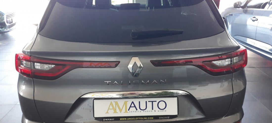 Renault Talisman Sported Initiale Paris Blue dCi 190 EDC
